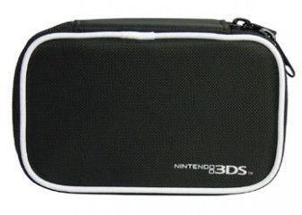 Сумка Hard Airform Case (Чёрная) для Nintendo 3DS
