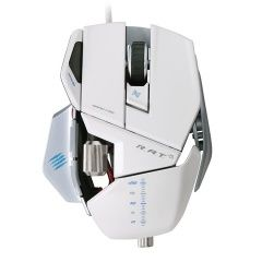 Мышь проводная Mad Catz R.A.T.5 Gaming Mouse (White) (PC)