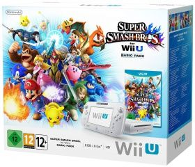 Купить Nintendo Wii U Basic Pack + игра Super Smash Bros (Wii U). Самая низкая цена!