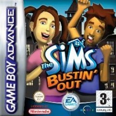 Sims Bustin Out Русская Версия (GBA)