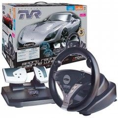 ��������� ���� Sport Racing Steering Wheel ��� PS2