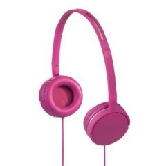 Наушники проводные Hama Joy Slim Stereo Headphones Розовые PC/Wii U/PS Vita/3DS (PC)