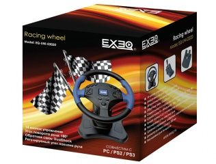 ������ ���� Exeq Racing Wheel PC/PS3/PS2 (PS3). ����� ������ ����!
