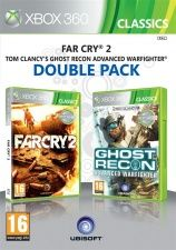 Far Cry 2 + Tom Clancy's Ghost Recon Advanced Warfighter Double Pack (Xbox 360)