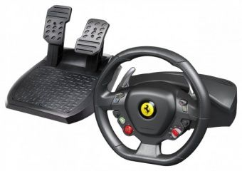 Руль Ferrari 458 Italia Wheel (Руль + педали) Thrustmaster (PC)