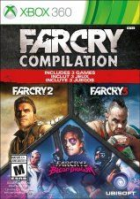 Far Cry Compilation (Far Cry 2 + Far Cry 3 + Far Cry 3 Blood Dragon) (Xbox 360)