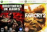 Brothers in Arms Hells Higway + Far Cry 2 Double Pack (Xbox 360)