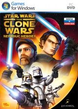 Star Wars the Clone Wars: Republic Heroes Русская Версия Box (PC)