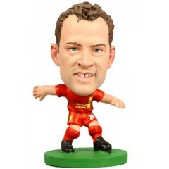 Фигурка футболиста Soccerstarz - Liverpool Charlie Adam - Home Kit (Series 1) (73256)