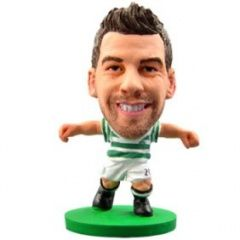 Фигурка футболиста Soccerstarz - Celtic Charles Patrick Mulgrew (Charlie Mulgrew) - Home Kit (76516)