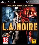 L.A. Noire Расширенное издание (The Complete Edition, Game Of The Year Edition) (PS3)