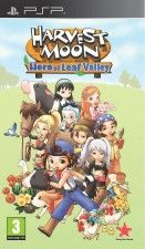 Игра Harvest Moon: Hero of Leaf Valley для Sony PSP