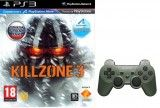Killzone 3 Standard Edition (Platinum) Русская Версия + Джойстик Sony DualShock 3 Jungle Green (Зелёный) (PS3)