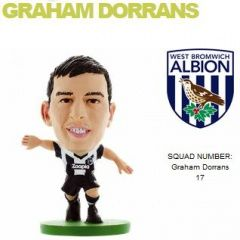 Фигурка футболиста Soccerstarz - West Brom Graham Dorrans - Home Kit (202612)