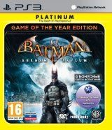 Игра Batman Arkham Asylum Game Of The Year Edition для Sony PS3