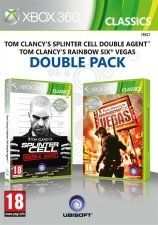 Tom Clancy's Splinter Cell Double Agent + Tom Clancy's Rainbow Six Vegas Double Pack (Xbox 360)