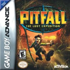 Pitfall The Lost Expedition Русская Версия (GBA)