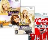 Hannah Montana the Movie + Hannah Montana: Spotlight World Tour + Disney HSM3 Sing It (Wii)