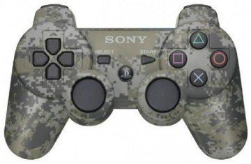 ������ �������� ������������ Sony DualShock 3 Wireless Controller Urban Camouflage ��� Sony PS3 Original (����) (PS3). ����� ������ ����!