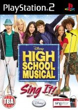 High School Musical: Sing It For Sing Star (PS2)