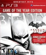 Batman: Arkham City (������ ����) ������� ���� ���� (Game of the Year Edition) ������� ������ � ���������� 3D (PS3)