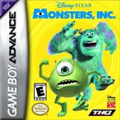 Monsters Inc. Русская Версия (GBA)