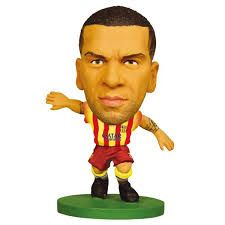 Фигурка футболиста Дани Алвес Барселона Soccerstarz - Barcelona Dani Alves - Away Kit (202514)