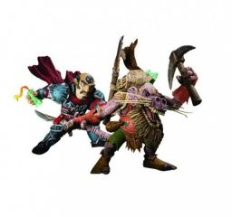 "����� ������� ����-��������� � �������-������ ""WoW S8"" Gnome Rogue vs. Kobold Miner 2-Pack (DC Unlimited)"