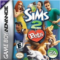 Sims 2 Pets ������� ������ (�������) (GBA)