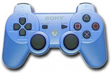 Аксессуар Sony DualShock 3 Wireless Controller Candy Blue для Sony PS3 Original (Голубой) для Sony PS3