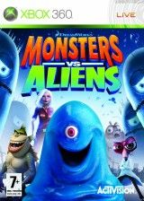 Игра Monsters vs Aliens для Xbox 360