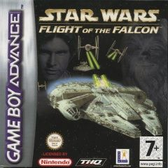 Star Wars flight of the falcon Русская Версия (GBA)
