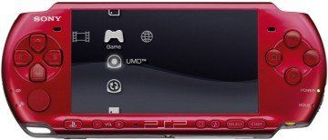 ������ Sony PlayStation Portable Slim Lite PSP 3000 Radiant Red (�������). ����� ������ ����!