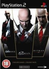 Игра Hitman Triple Pack (Silent Assassin + Contracts + Blood Money) для Sony PS2