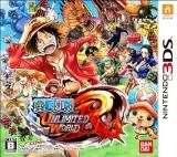 One Piece Unlimited World Red (Nintendo 3DS)