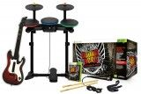 Игра Guitar Hero: Warriors of Rock Band Bundle (Игра+Гитара+Барабаны+Микрофон) для Xbox 360