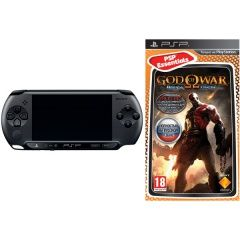 ������ Sony PlayStation Portable Street PSP E1008 Black RUS (׸����) + ���� God of War: ������� ������ ������� ������. ����� ������ ����!