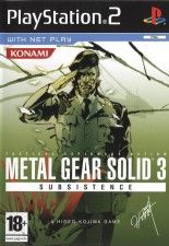Игра Metal Gear Solid 3: Subsistence для Sony PS2