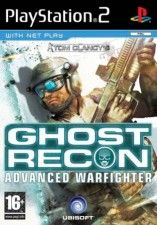 Игра Tom Clancy's Ghost Recon: Advanced Warfighter для Sony PS2