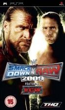 Игра WWE SmackDown vs. Raw 2009 Рус. Док. для PSP
