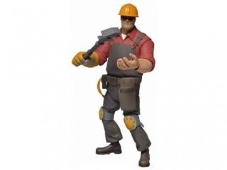 "Фигурка Инженер ""Red"" (NECA Team Fortress 2 RED Series 3 Deluxe Limited Edition Action Figure Engineer)"