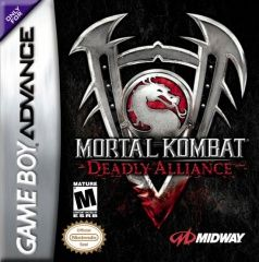 Mortal Kombat Deadly Alliance Русская Версия (GBA)