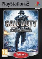 Игра Call of Duty: World at War - Final Fronts Platinum для PS2