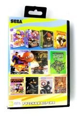A11001(11 In 1)  M. K. 3 ULTIMATE / МАРИО + ТАНЧИКИ / Kung Fu Panda 2 / NARUTO 2 / +... Русская Версия (Sega)
