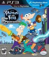 ������ ����� � ����. ��������� 2-��� ��������� (Disney Phineas and Ferb Across the 2nd Dimension) � ���������� PlayStation Move (PS3)
