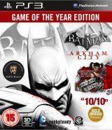 Batman: Arkham City (Аркхем Сити) Издание Игра Года (Game of the Year Edition) (PS3)