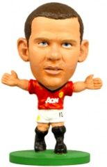 Фигурка футболиста Уэйн Руни Манчестер Юнайтед Soccerstarz - Man Utd Wayne Rooney - Home Kit (Series 1) (73325)