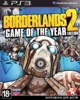 Borderlands 2 Издание Игра Года (Game of the Year Edition) (PS3)