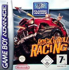 Rock and Roll Racing Русская Версия (GBA)