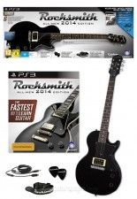 Rocksmith 2014 Edition With Guitar (Игра + Гитара) (PS3)